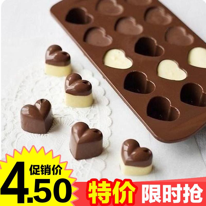 15 даже любовь силиконовый плесень падения любви шоколад / формочка для льда / ручной работы мыло мягкий высокотемпературные плесень