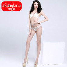 Husband and wife long legs even appeal body silk stockings Open files pantyhose woman summer undergarment t incarnadine sexy temptation