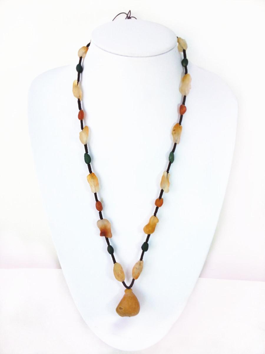 Натуральные внутренняя монголия аллах хорошо яркий странный камень агат ожерелье браслет браслеты ( два ) ювелирные изделия аксессуары подарок