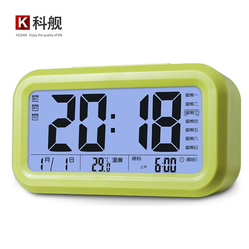 Корабль смарт-часы немой студенческие часы творческие 3 группы будильник цифровые часы день часов постели ребенка ночью свет