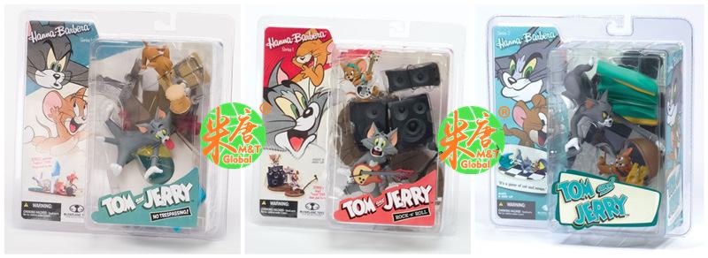 【预定】麦克法兰 汉娜芭芭拉卡通猫和老鼠 TomJerry场景人偶玩偶