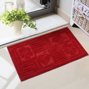 Seoul the US House of plain soft and comfortable mats doormat absorbent non slip bath mat kitchen 50X80 cm
