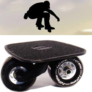 漂移板小板飘移板分体滑板铝合金漂移板有印字配广东PU高弹轮刷街