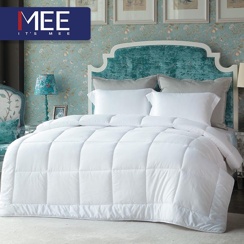 梦洁出品 MEE 丝柔四孔冬被 秋冬单双人被芯床上用品保暖亲肤新款