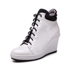 New England name code 2014 Winter fashion women's boots pointy front strap wedges Martin boots short boots M1005
