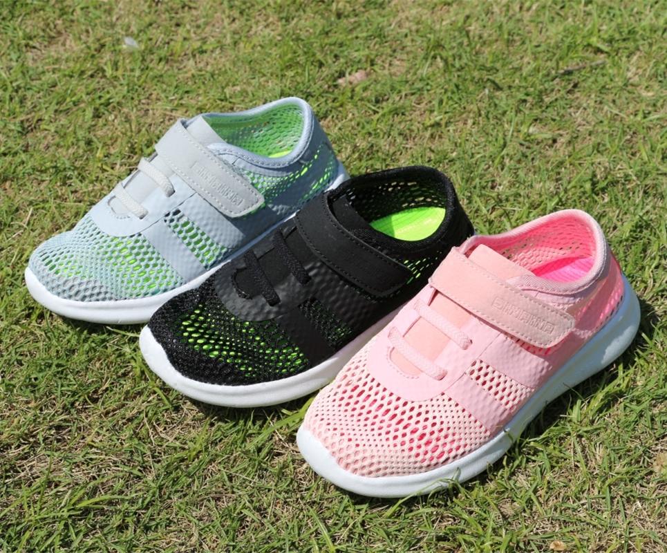 专柜正品斯乃纳童鞋夏款SS1820211男女童单网运动鞋儿童舒适单鞋