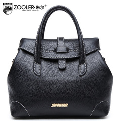 Jules leather women's bags in Europe and the first layer of leather Roman bag shoulder bag new fall/winter bag small
