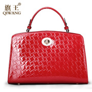 Qi Wang fall/winter bag 2015 new high-end European fashion leather handbag bag handbag, Kelly