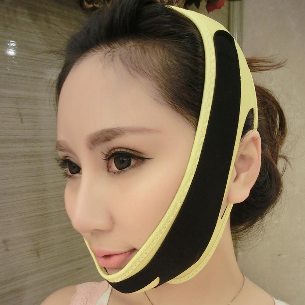 Цян Xiaoshou лица маска лица артефакт тонкий лицо тонкий инструмент лицо перевязали его тонкие лица маски для лица и маска красоты