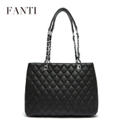 Questions women bag 2015 new fall/winter tide simple shoulder bag leather chain link gebao Lady handbag