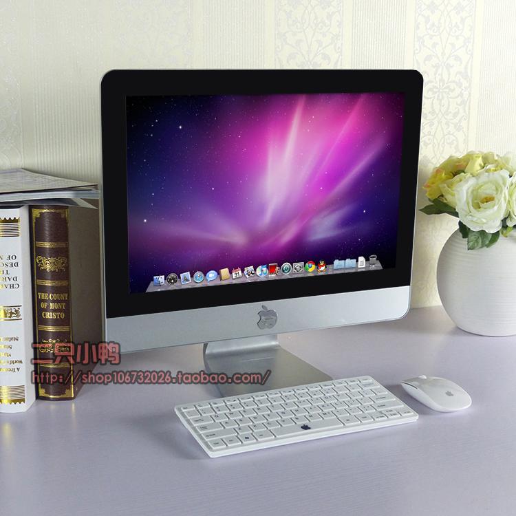 包邮19寸苹果仿真一体机假显示器模型苹果电脑一体机模型电视模型