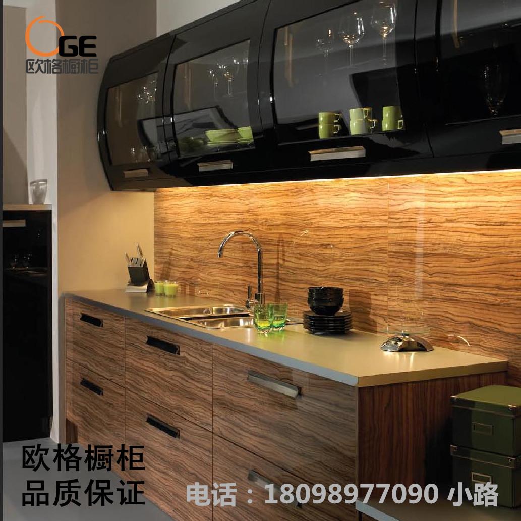 深圳 厨柜 橱柜  整体橱柜  烤漆 晶钢门 板石英石 家装主材 建材