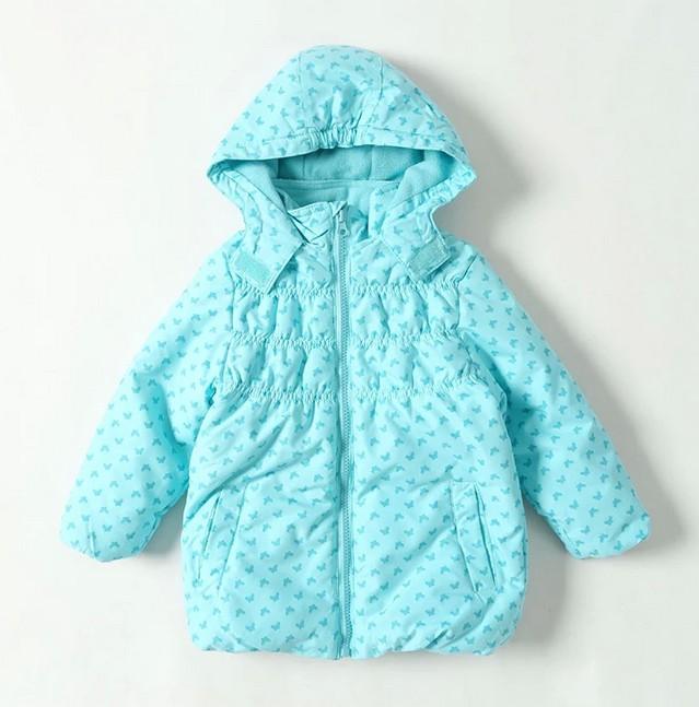 Внешняя торговля оригинальный Детская одежда зимой 2014 новые девушки с капюшоном водонепроницаемый стеганые Andes детей пальто хлопка