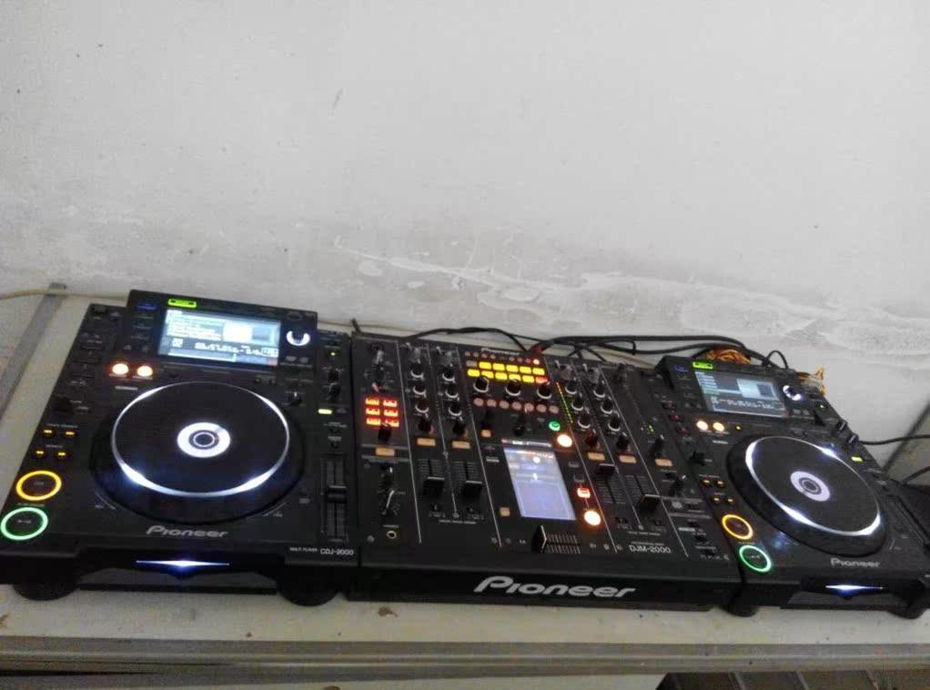 二手先锋2000套装打碟机 CDJ2000+DJM2000 货到付款+保修