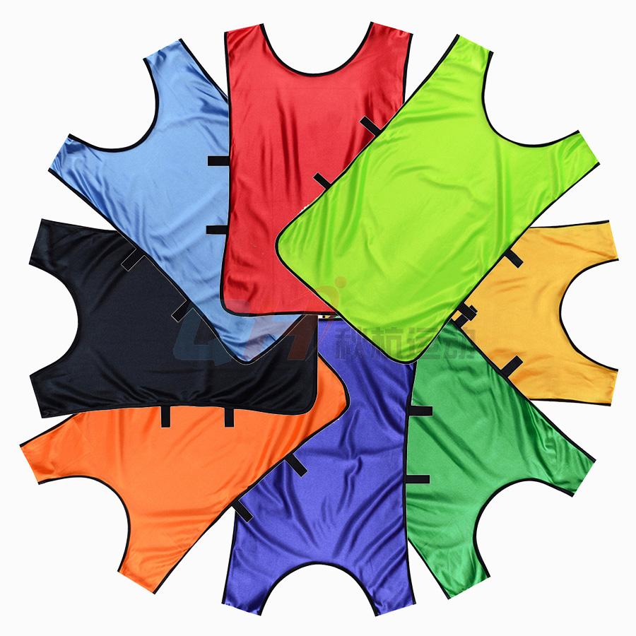 足球篮球背心 分队服 马甲对抗服 男女训练服广告衫马夹可印号