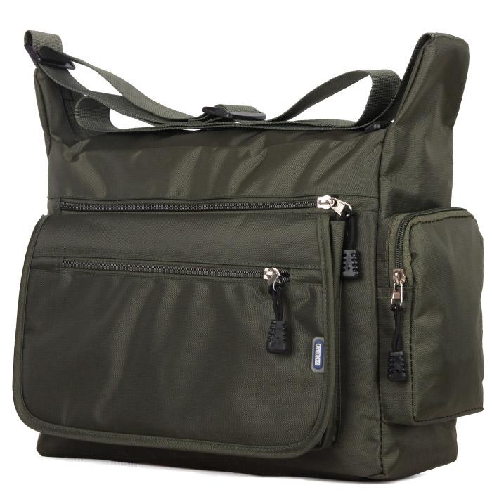 Single shoulder bag mens waterproof nylon bag Oxford canvas leisure travel large capacity messenger bag middle aged and elderly student bag