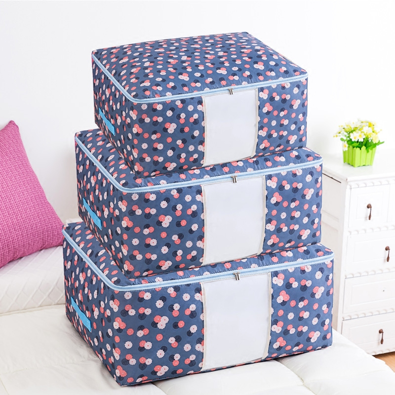 Quilts and quilts storage bag waterproof and moisture-proof household packing box storage bag extra large clothes luggage bag
