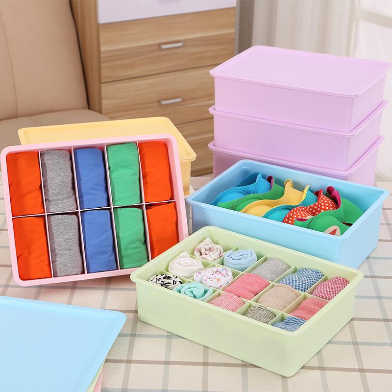 Соты цветок пластик домой утолщенной есть крышка коробка одежды три образца бюстгальтер трусы носки выдвижной ящик разбираться большие ящики,