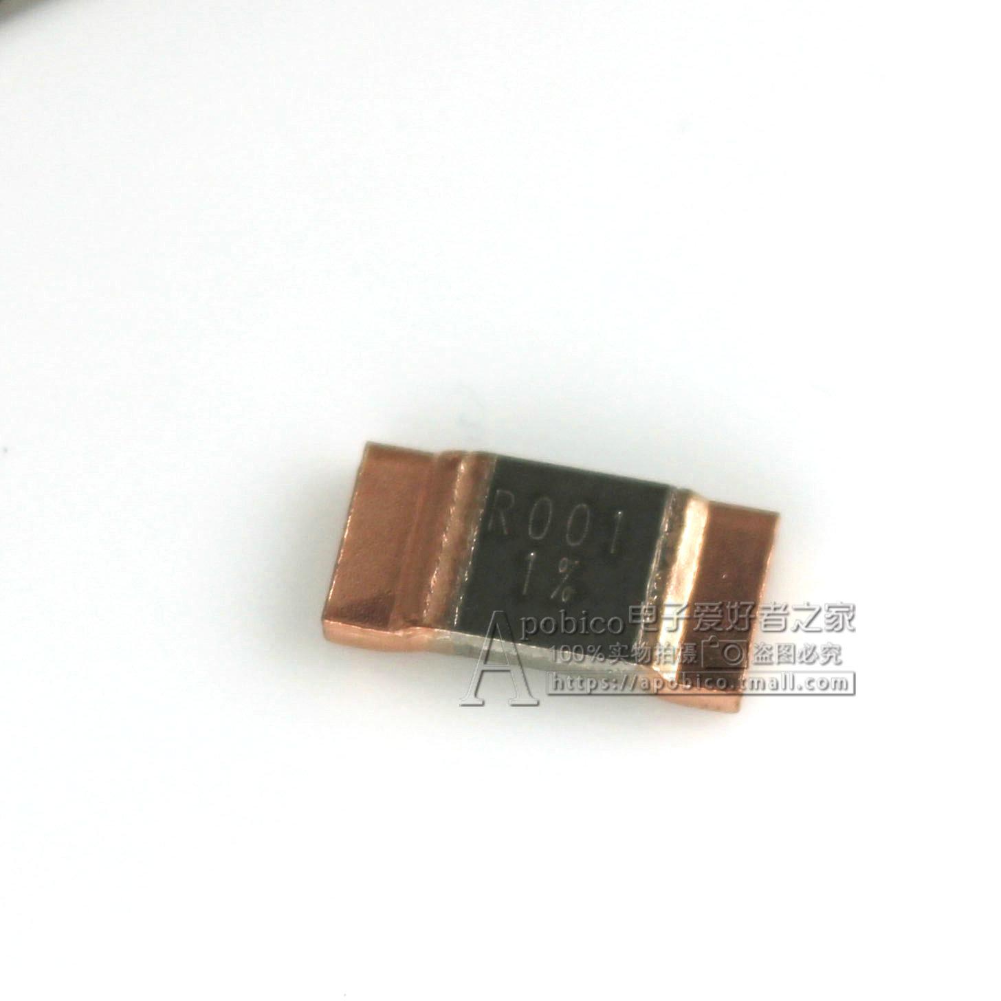 精密大功率采样电阻 锰铜分流3920 5W 0.001R R001 1毫欧