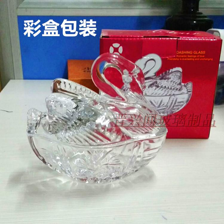 European style sugar can, glass candy can, tea table decoration, creative storage utensils, coffee sugar can, dry fruit tray, fashion
