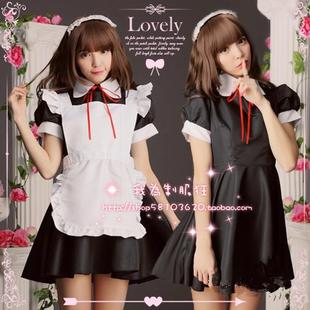 Japanese Super Meng Akihabara maid waitress Cosplay costume COS anime angel love