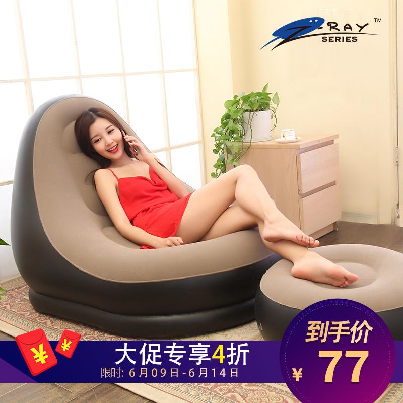 618懶人沙發 充氣沙發床可愛 單人午休椅可折疊沙發榻榻米