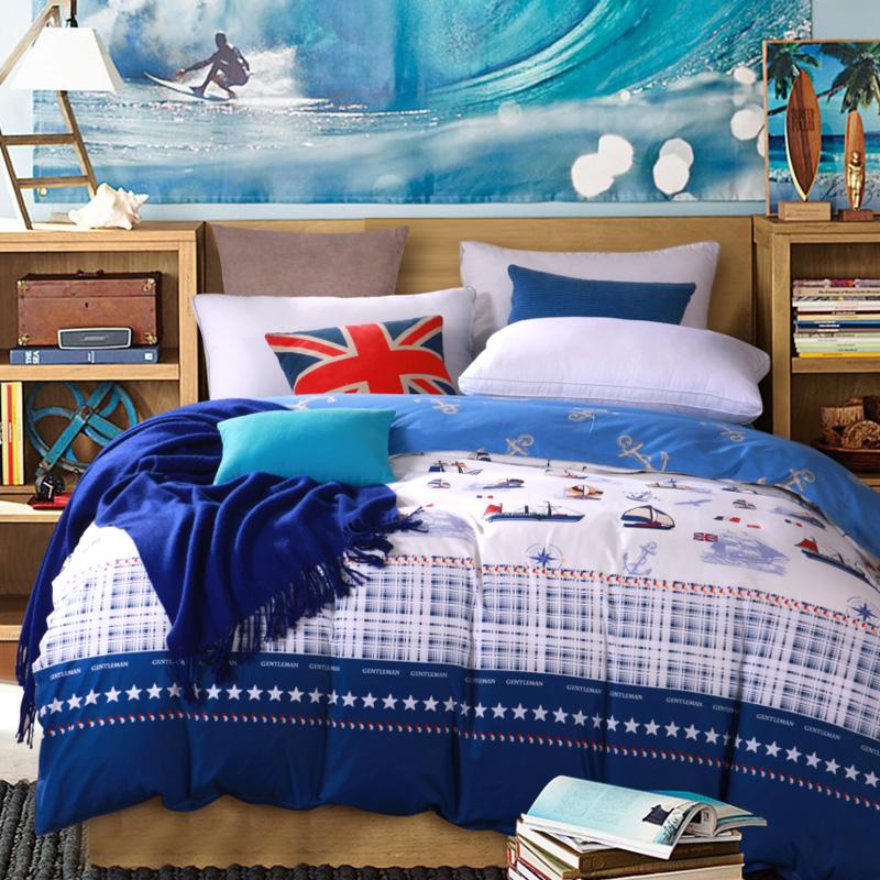 華錦添100^%全棉被套 單人雙人純棉被罩床品單件 純棉床上用品