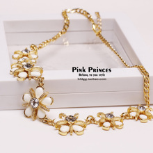 Europe and the United States, 2015 new summer set auger flowers deserve to act the role of brief paragraph han edition clavicle necklace chain 1152578850 ornament