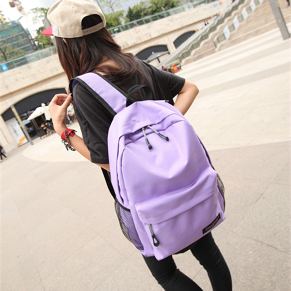 Waterproof backpack for men and women fashion trend schoolbag for junior high school students leisure computer bag travel bag