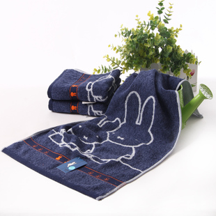 Gold No Miffy cotton towels soft absorbent cartoon cute bunny Men