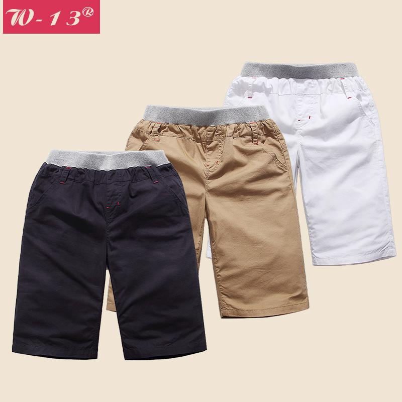 男童純棉青少年 中褲