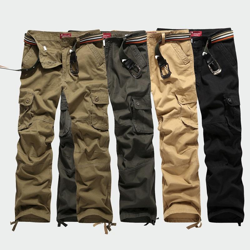 Весна 2015 Комбинезоны Мужские повседневные брюки спортивные карман длинные брюки прямые открытый весна/лето Мужская одежда