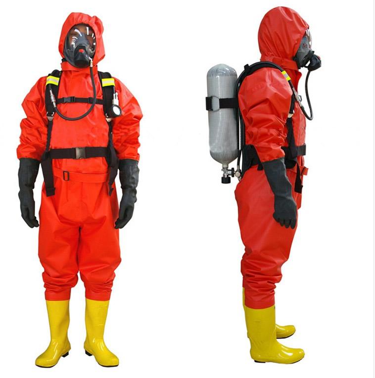 简易型防化服、消防防护服、轻型防化服、三防服连体式消防防化服