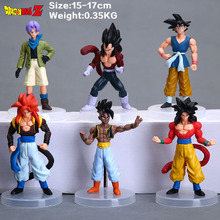 Seven generations of dragonball six designs a set of hand model doll