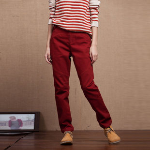 Original villa INNER style pants colorless odorless thin pants casual pants female trousers spring KS1076