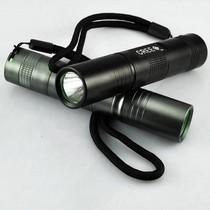 S5户外迷你小直筒家用可充电强光手电筒LED超亮袖珍Q5远射王18650