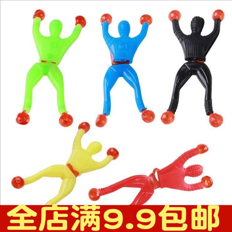 Шип липкость человек подъем стена человек подъем стена сверхчеловек интерес ребенок игрушка подъем стена паук человек 708