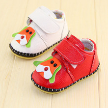 The spring of 2015 the new children's baby shoes Pure hand-made toddler child baby soft bottom shoes Genuine leather