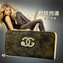 Han edition zipper wallet long wallet. Lady hand bag 2015 female hand bag purse new bills