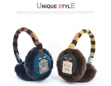 Little closet South Korea original single authentic children baby ear muffs winghouse robot