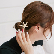 Know Connie hair Korea Starfish ring, Japan and South Korea tied hair jewelry band alloy head rope string