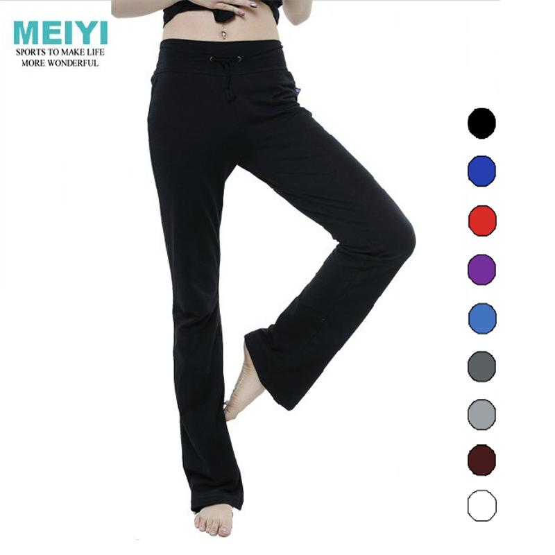 春夏高弹性直筒莫代尔瑜伽裤订做特加大码练功跳操广场舞蹈健身服