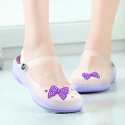 夏季玛丽珍果冻鞋