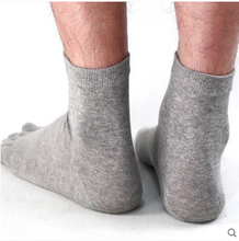 Lanswe male socks Five fingers socks male cotton socks Chun xia, thin exercise five fingers socks male socks short cylinder five toe socks