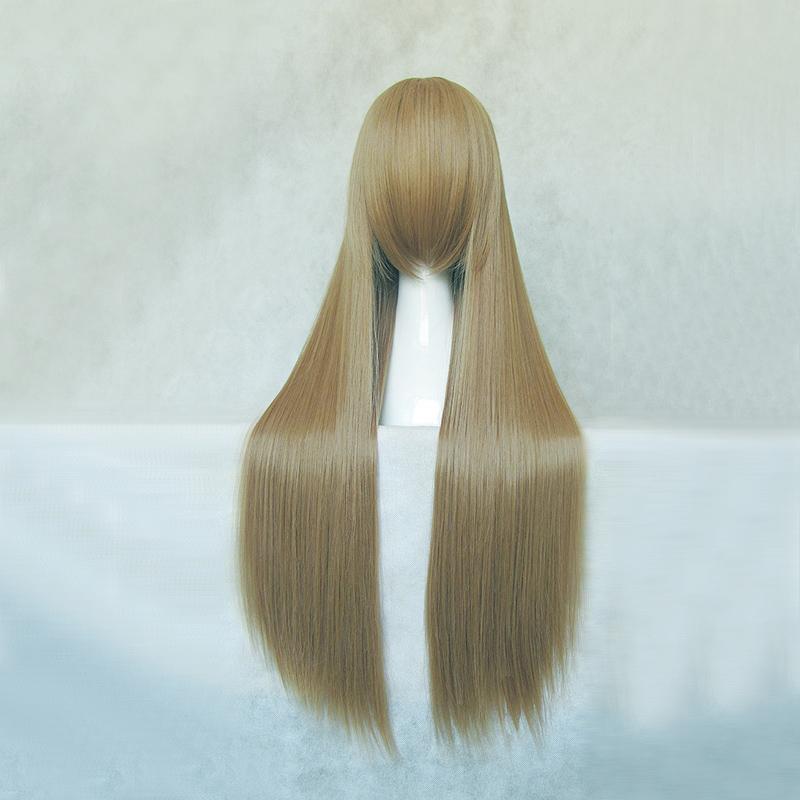 Лето магии косплей парик коричневый 80 см ментол чай мальчик XI Милтон песок
