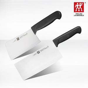 双立人菜刀具切片刀套装Enjoy套装厨房中片刀砍骨刀进口不锈钢