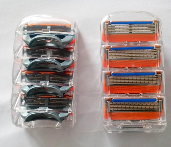 Пять американских производителей поставлять бритвы совместимый Gillette лезвия подходят для термоядерный синтез