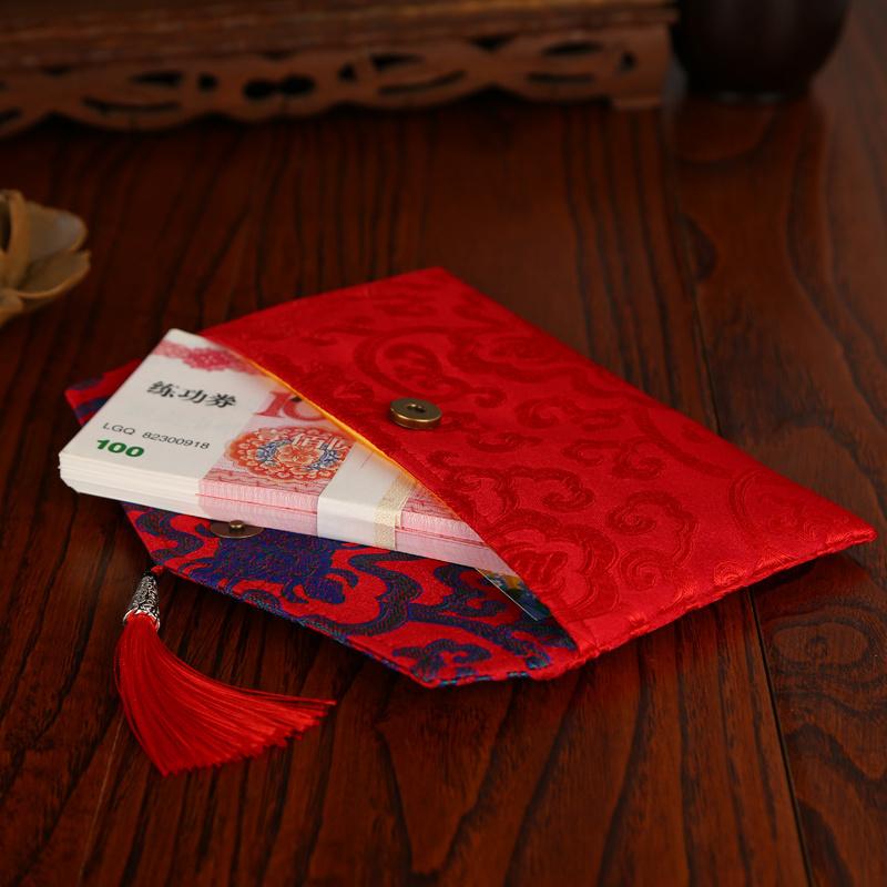 新款个性大红包布袋结婚婚礼礼金袋11月10日最新优惠