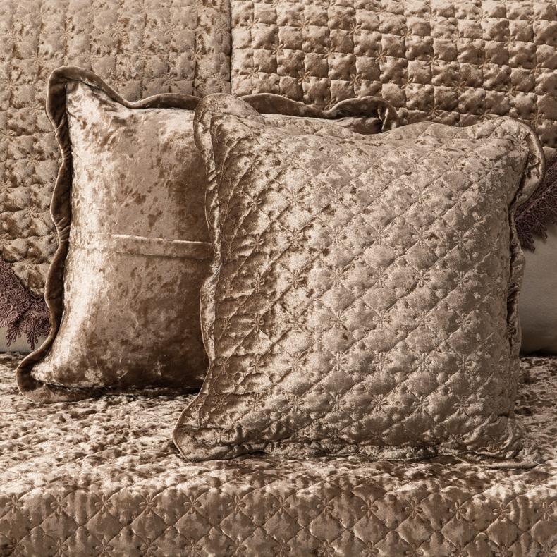 ~金絲絨歐式沙發墊配套抱枕套~靠墊枕套靠背墊抱枕沙發靠墊枕芯