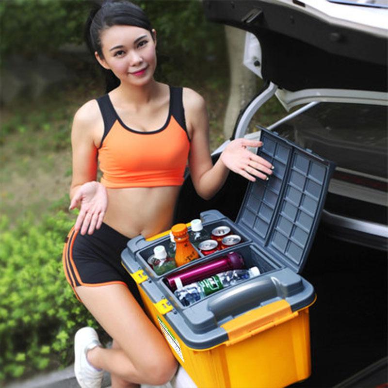 Автомобиль багажник коробка для хранения ящик автомобиль стенды статьи машина задний мусор коробка автомобиль разбираться коробка